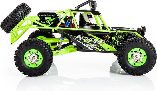 WlToys Buggy RTR 4WD - 2.4GHz - 50 km/h - 1:12 - Waterproof