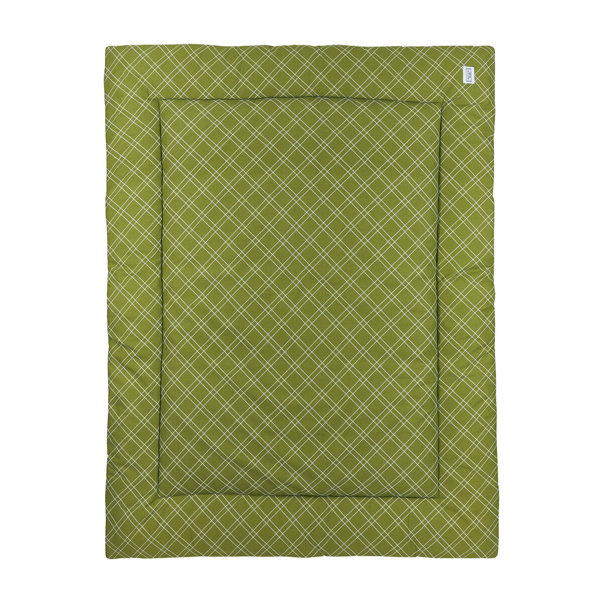 Meyco Boxkleed Double Diamond 80x100 cm. 80x100 - Avocado