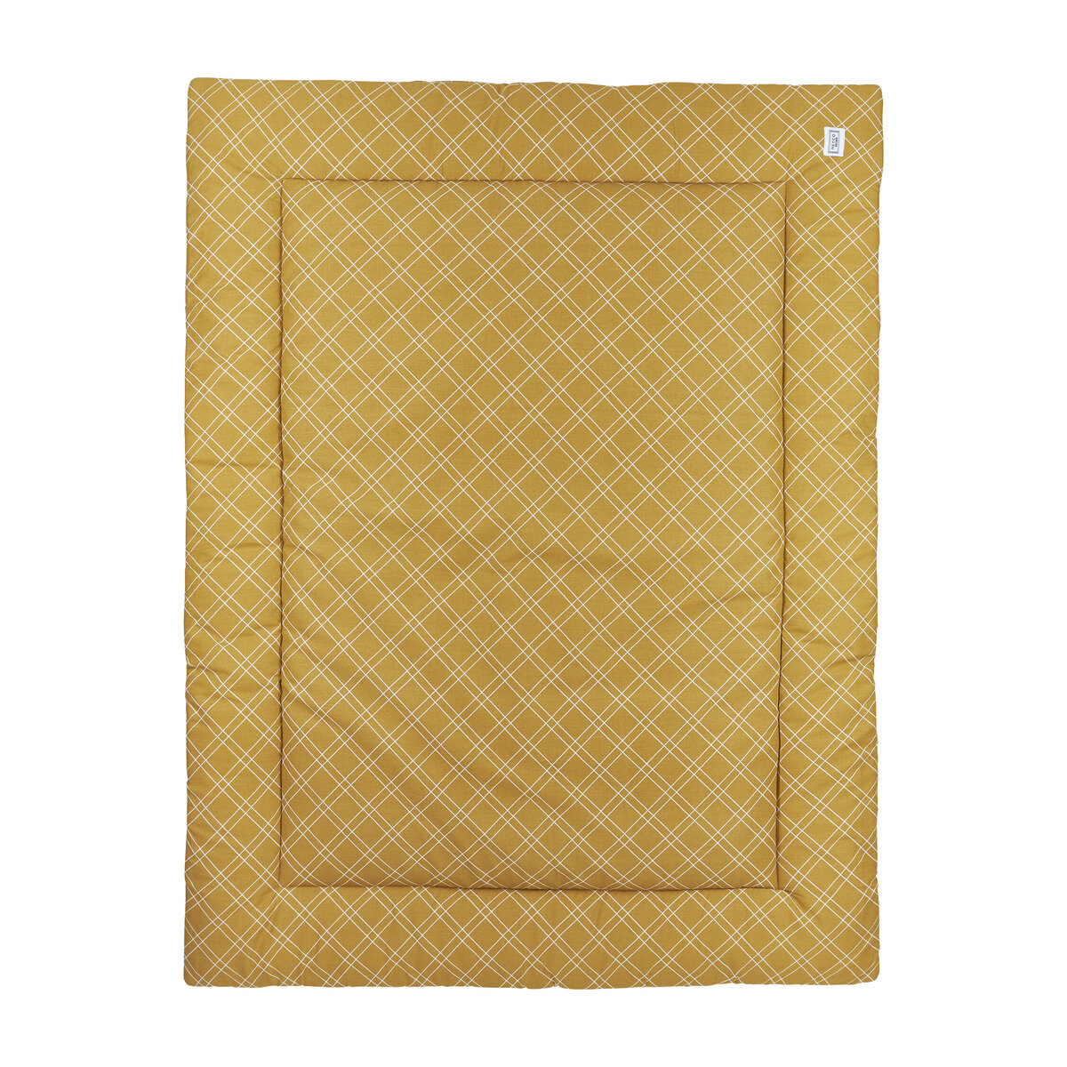 Meyco Boxkleed Double Diamond 80x100 cm. 80x100 - Honey Gold